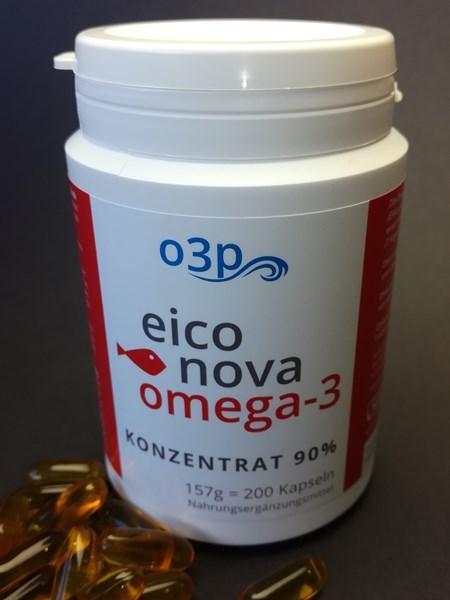 Bild von EICONOVA PUR3 200 omega-3 Kapseln