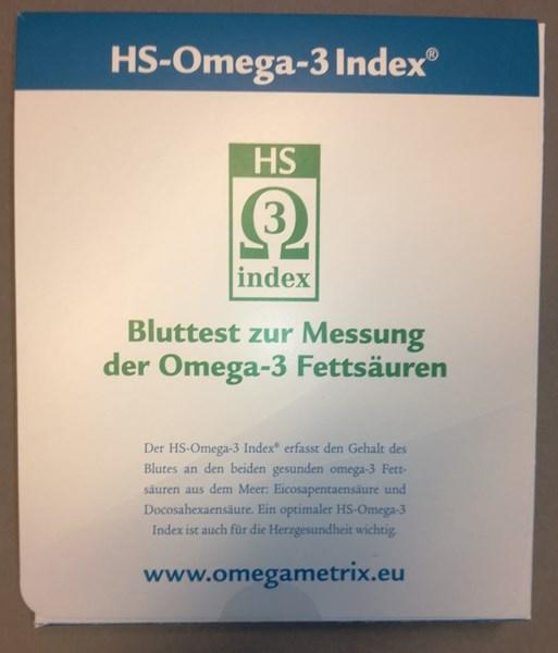 Bild von HS-Omega-3-Index  Bluttest